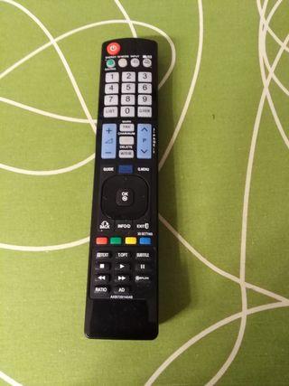Mando TV a distancia.