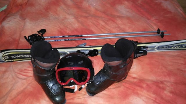 equipo de esqui Junior