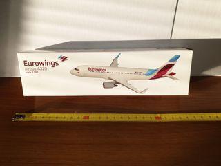 maqueta avión comercial de coleccion