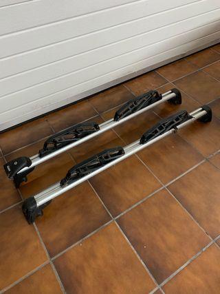 Barras de techo y porta esquís originales BMW