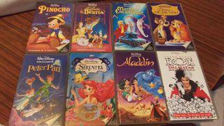 VHS Disney Classicos ( el precio incluye todas )
