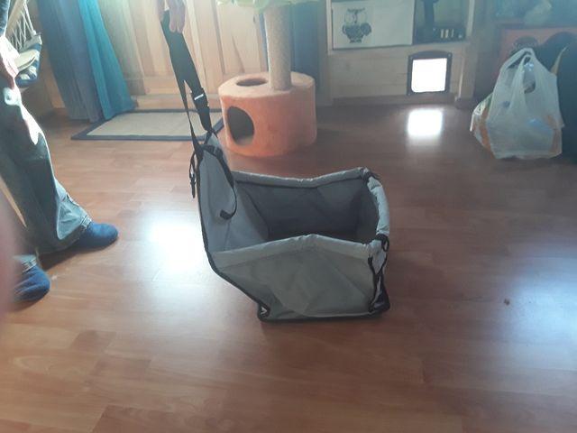 canasta para trasporte de perro o gato