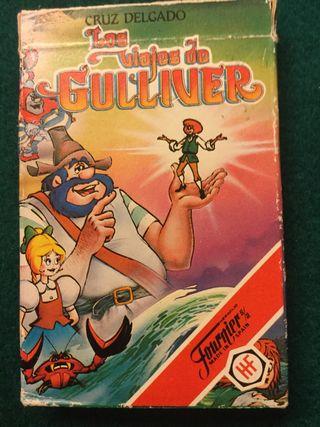 Juego cartas los viajes de gulliver