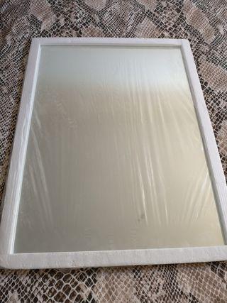 Espejo rectangular de baño