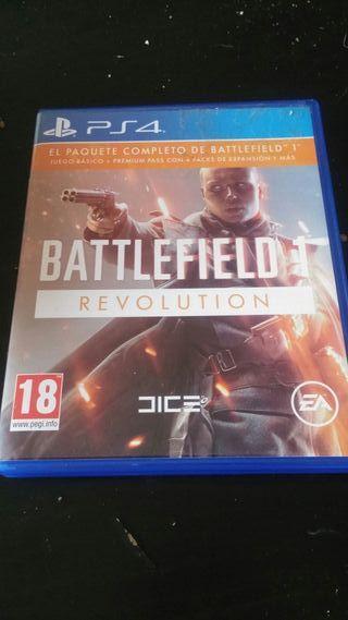 Videojuego ps4 battlefield revolution 1