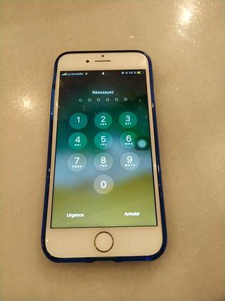 iphone 7. 32 gb color blanco, negociable.