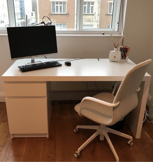 Work desk and chair