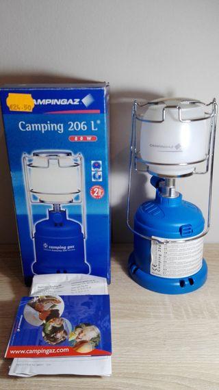Lámpara a gas butano de gran potencia Campingaz
