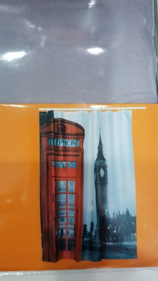 cortina baño Londres 180x180
