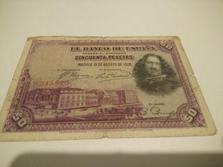 50 pesetas 1958