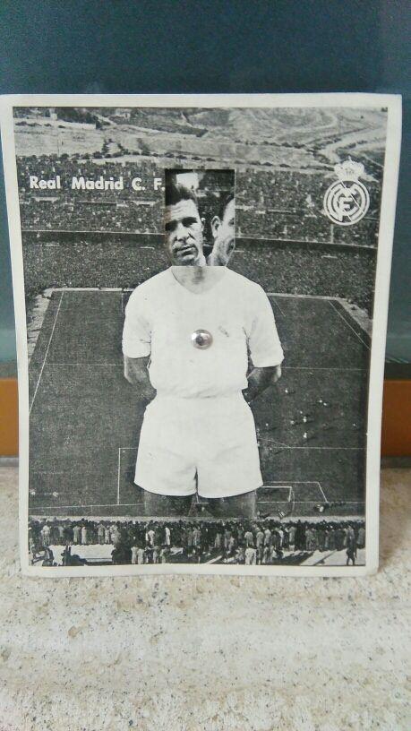 tarjeta deportiva futbolistica del real madrid.