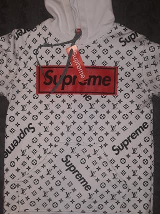 Sudadera SUPREME & LOUIS VUITTON