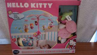 Móvil musical para cuna Hello Kitty