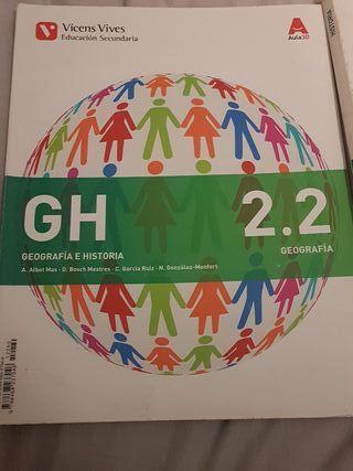 libro GH segundo de la ESO