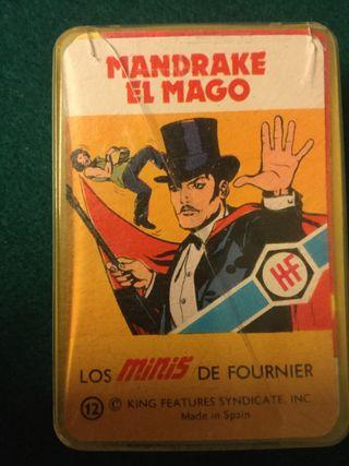 Juego de cartas mandarme el mago