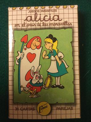 Juego cartas Alícia en el pais de las maravillas