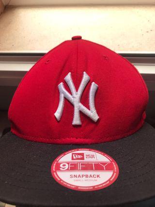 Gorra New Era New York yankees Snapback roja