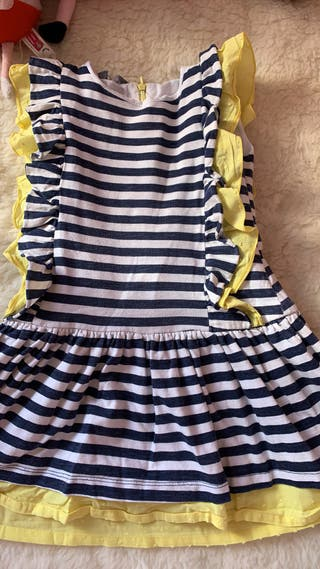 Vestido kids chocolate talla 5