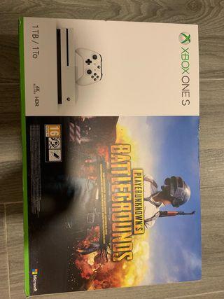 Xbox one S con juego NUEVA Y PRECINTADA