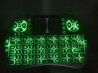 Vendo mini teclado inalambrico con touch