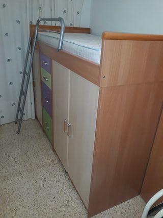 Cama nido 201cmx98cm