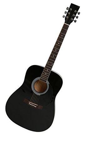 Guitarra Navarra acústica nueva con funda