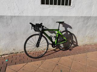 Bicicleta Orbea Orca Carbono + Rodillo Tacx Flow