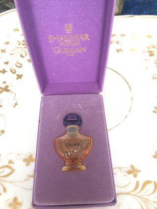 Miniatura antigua perfume Shalimar de Guerlain