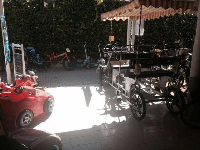 Carros a pedal ,Kard , Tándem