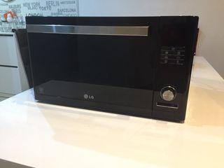 Horno y Microondas lg negro design con grill