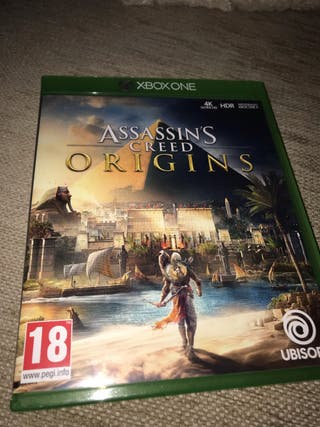 Assassin's Creed Origins Xbox one.