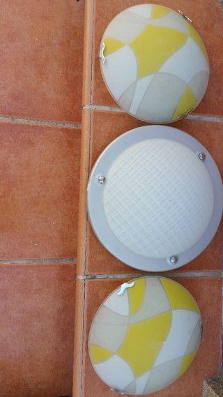 apliques para techo o pared