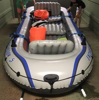 Barca neumática hinchable