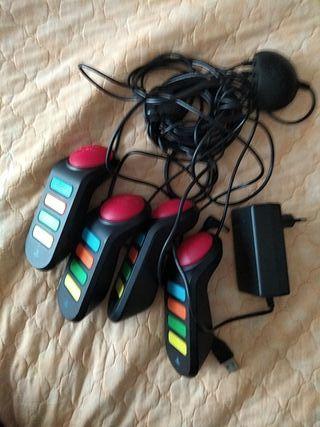 mandos PlayStation 2 buzz.