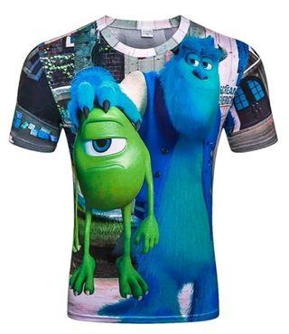 camiseta monstruos S.A