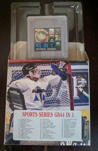 Nintendo SPORT series GameBoy 44 in 1