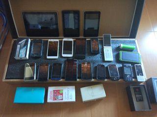 varios moviles y tablet