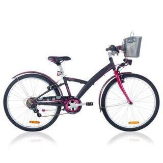 Bicicleta niños 24`` POPLY 500 negro