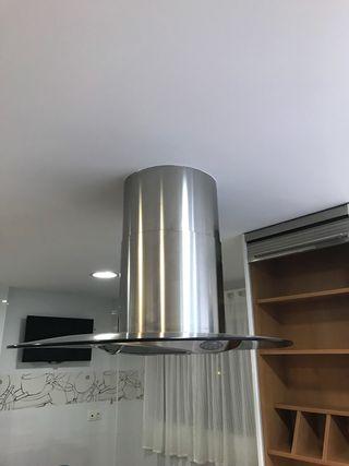 Campana extractora de techo