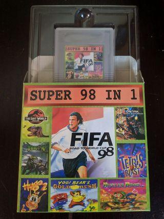 Nintendo Gameboy Super 98 in 1