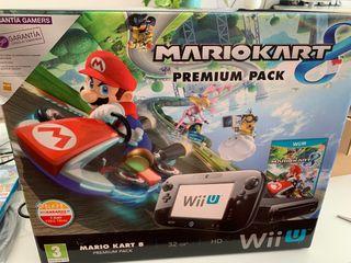 Wii U + Mario Kart 8 + 2 mandos