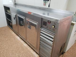 Camara frigorífica industrial de 3 puertas