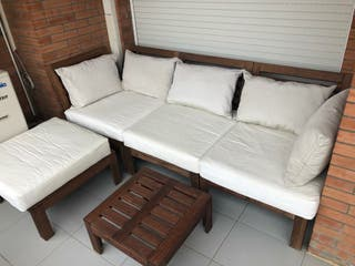 sofás de exterior Ikea
