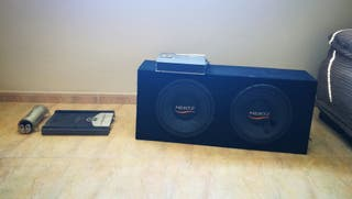 Doble subwoofer Hertz