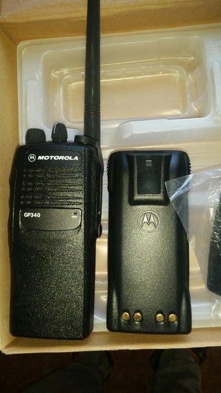 Walkie Talkie MOTOROLA GP340 nueva en caja origina