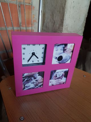 reloj infantil, con foto