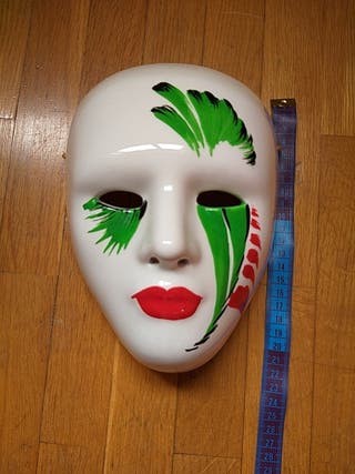 Máscara porcelana