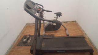 cinta y bicicleta estatica