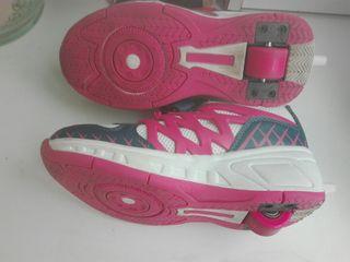 Zapatillas niña patines