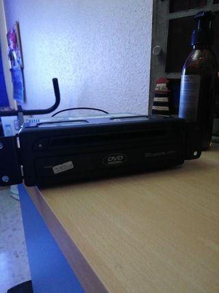 radio con pantalla táctil DVD de BMW